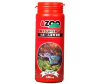 AZOO 9 IN 1 Guppy Pellet (Гранулы для гуппи)